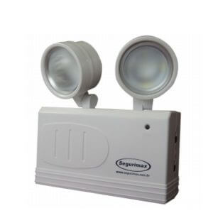 Luminaria emergencia 2 farois Led 200