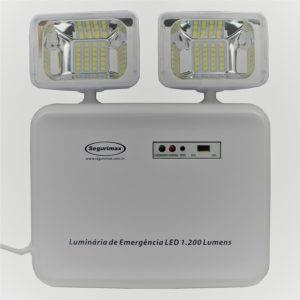 luminária de emergência 2 farois led