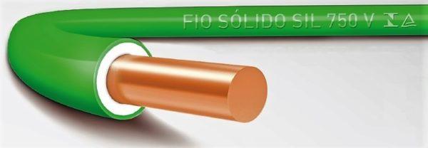 2cac67264 Fio Rígido 10mm2 450 750V - Demabi