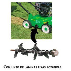 aerador de grama