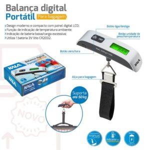 balança digital para bagagem