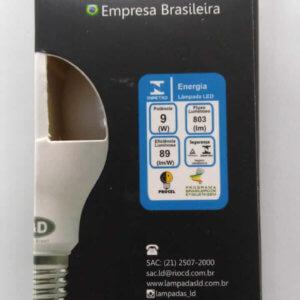 lâmpada led 9w